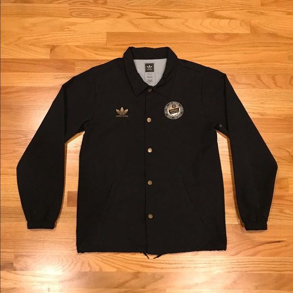 Adidas Skateboarding international coach jacket